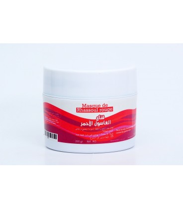 Masque de Rhassoul Rouge 200gr